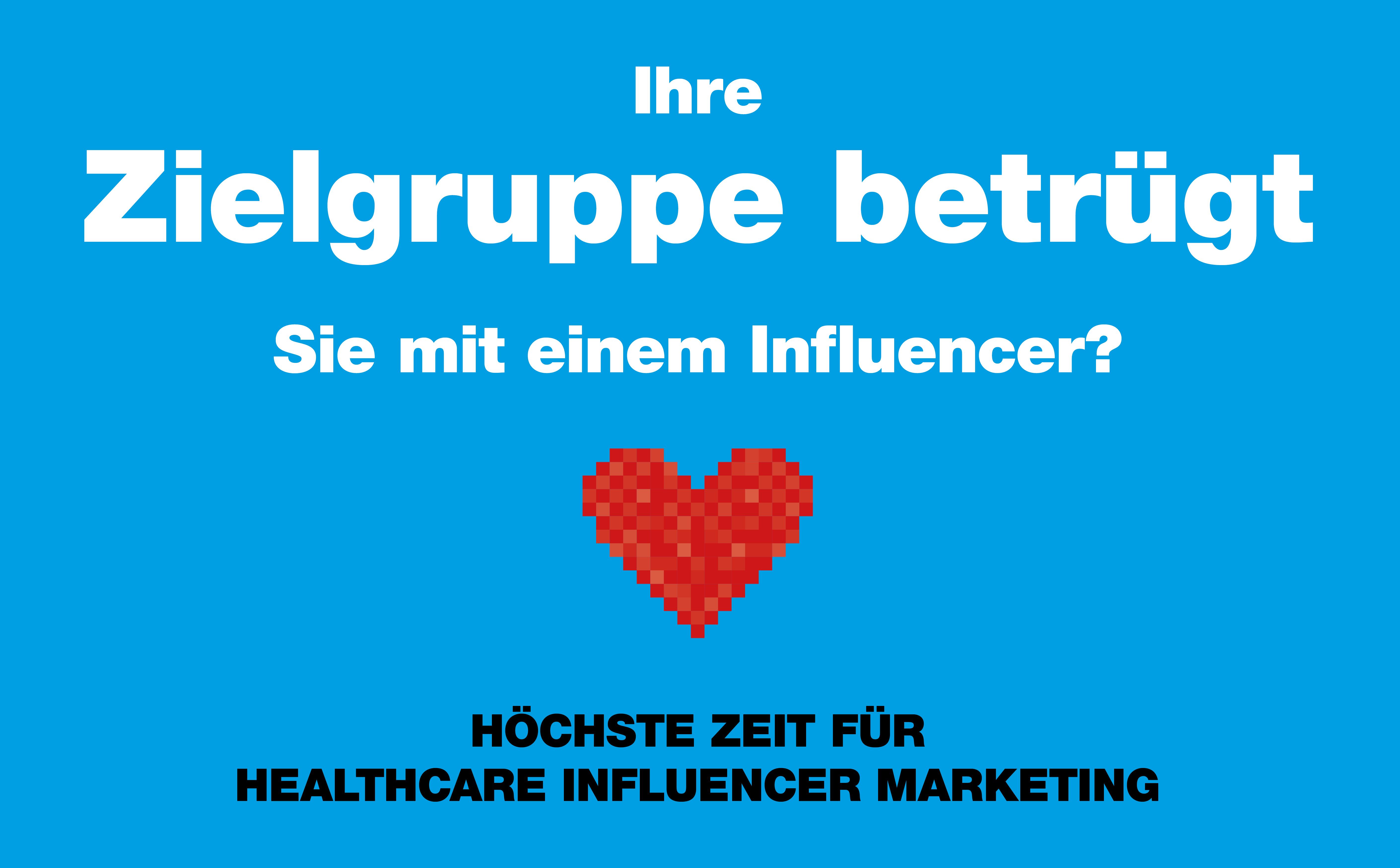 Influencer Marketing für Healthcare Unternehmen